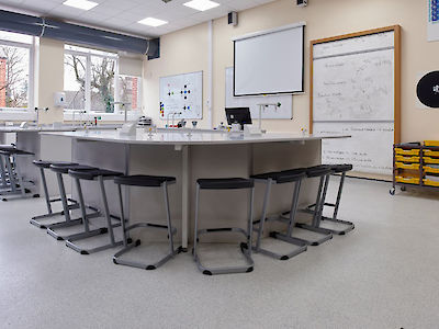 Best Flooring for Laboratories and Science Rooms