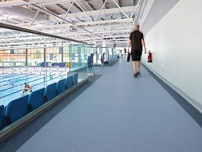 Leisure Flooring Supply and Installation in the West Midlands
